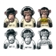 Three Wise Monkeys - GraphicRiver Item for Sale