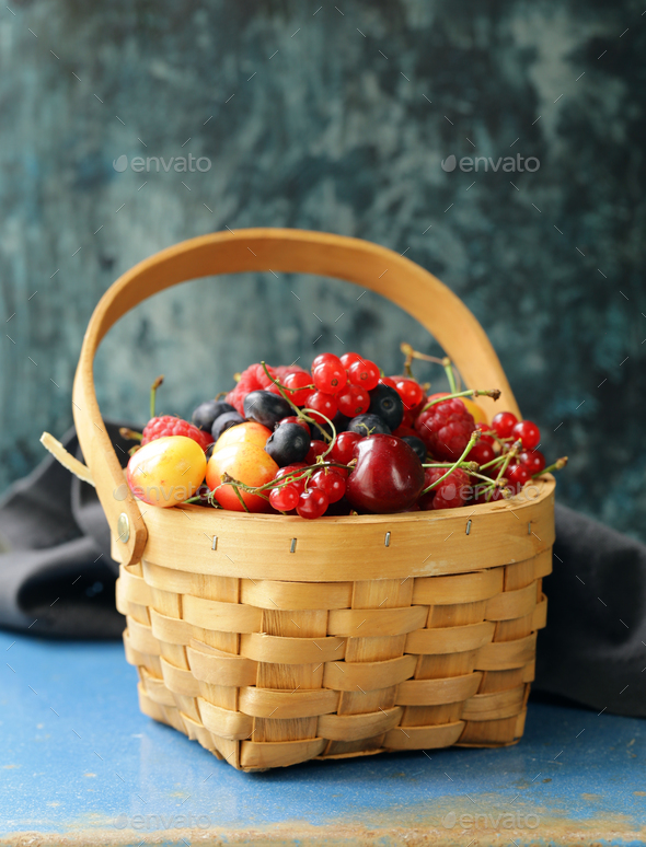 Mix Berries  - Stock Photo - Images