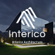 Interico - Stylish Interior Design and Architecture Powerpoint Template - GraphicRiver Item for Sale