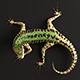 Green Lizard - Podarcis Sicula