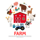 Flat Agriculture And Farming Concept - GraphicRiver Item for Sale