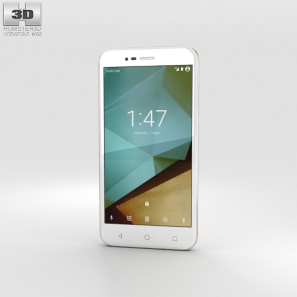 Vodafone Smart Prime 7 Boron White
