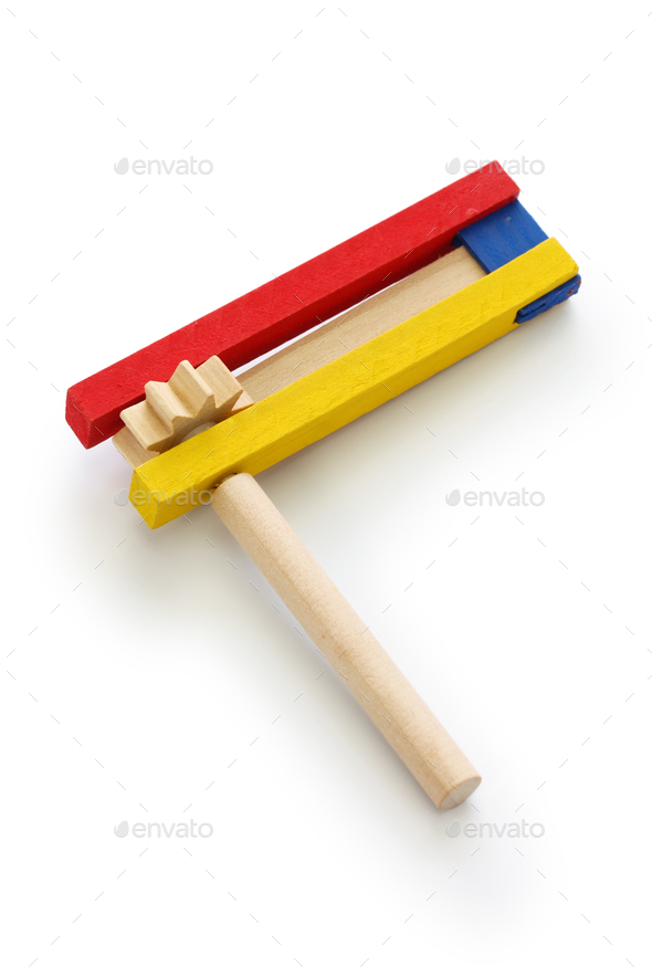 gragger,noise maker for happy Purim jewish holiday party - Stock Photo - Images