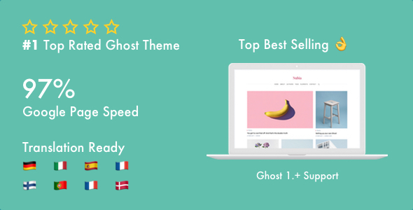Nubia - Make Your Ghost Blog Beautiful & Make It Fast & Accessible