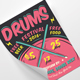 Drum Festival Flyer - GraphicRiver Item for Sale