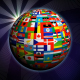World Globe Flags - VideoHive Item for Sale