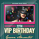 Vip Birthday Flyer / Poster - GraphicRiver Item for Sale