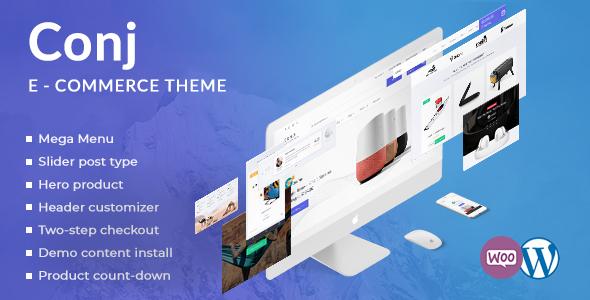 Image of Conj - eCommerce WordPress Theme