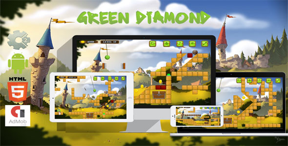 Green Diamond - CodeCanyon Item for Sale