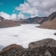 Tilicho Lake, Mountain, Sky and Moving Clouds - VideoHive Item for Sale