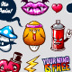 Graffiti bizarre characters - GraphicRiver Item for Sale