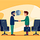 Business Conversation at Meeting - GraphicRiver Item for Sale