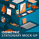 Isometric Stationary Mock-Up