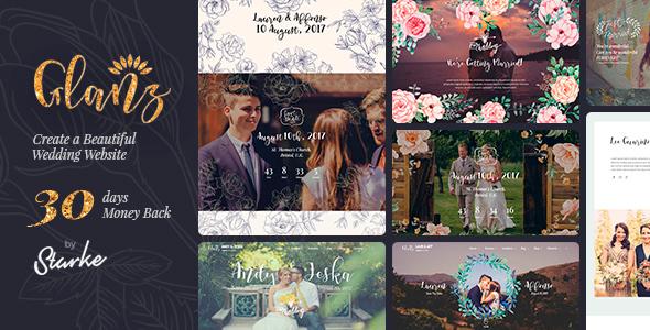 Image of Glanz - Wedding Theme