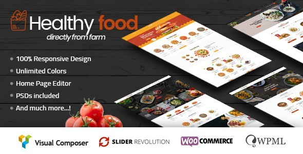 healthyfood - multipurpose woocommerce theme (woocommerce) HealthyFood – Multipurpose WooCommerce Theme (WooCommerce) 00 Preview