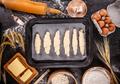 Crescent rolls before baking - PhotoDune Item for Sale