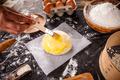 Baker hands smears butter - PhotoDune Item for Sale