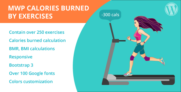 MWP Calories Burned By Exercises Calculator            Nulled