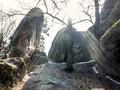 White Elephant Rocks in backlight - PhotoDune Item for Sale