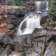 Waterfalls on Jedlona creek in autumn - PhotoDune Item for Sale