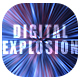 Digital Explosion Backgrounds - GraphicRiver Item for Sale