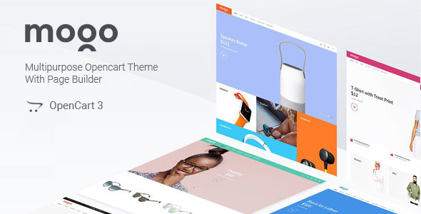 Image of Mogo - fastest responsive fashion OpenCart theme