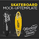 Longboard Skateboard Mockup Template - GraphicRiver Item for Sale