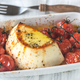 Baked ricotta with cherry tomatoes - PhotoDune Item for Sale