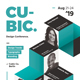 Cubic Modern Flyer - GraphicRiver Item for Sale