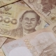 Thai Baht Banknotes Rotating on Turntable - VideoHive Item for Sale
