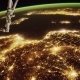 A Flight Over the Earth's Surface, Taken From a Space Station - VideoHive Item for Sale