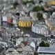 Aksla at the City of Alesund Tilt Shift Lens, Norway - VideoHive Item for Sale