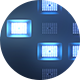 Lights Blue Background FullHD - VideoHive Item for Sale