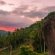 Beautiful Sunset in Tropical Mountains with Palm Trees in Samui, Thailand. - VideoHive Item for Sale