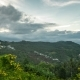 Villas in Tropical Mountains with Storm Clouds in Samui, Thailand - VideoHive Item for Sale