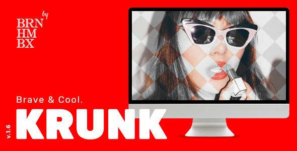 Image of Krunk - Brave & Cool WordPress Blog Theme