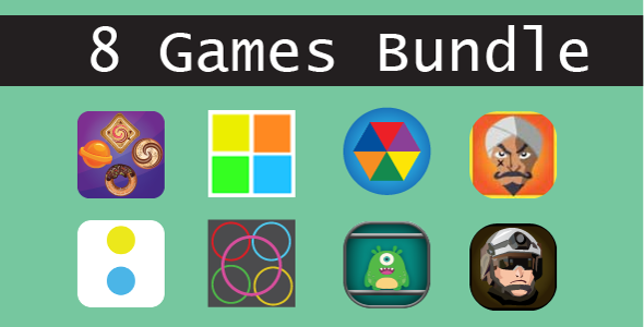 8 HTML5 GAMES (CAPX + HTML5) & MORE Than 75% OFF - CodeCanyon Item for Sale