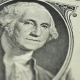 One Dollar and George Washington