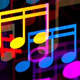 Color Music Notes - VideoHive Item for Sale