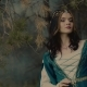 Elvish Queen Posing in Forest - VideoHive Item for Sale