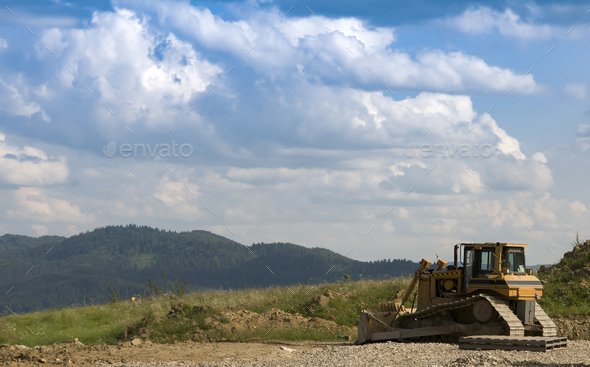 bulldozer - Stock Photo - Images
