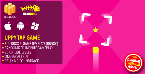 Uppy Tap - BuildBox 2 Game Template Document - iOS / Android / BBDOC            Nulled
