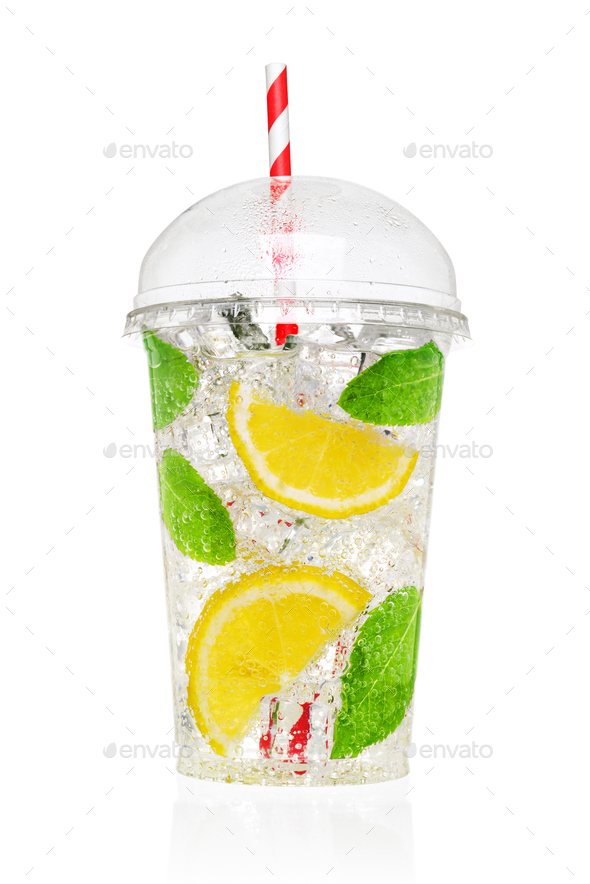 Mojito soft drink isolated - Stock Photo - Images