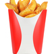 Fried potato wedges solated - PhotoDune Item for Sale