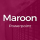 Maroon Powerpoint Template - GraphicRiver Item for Sale