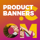 Product Web Banners - GraphicRiver Item for Sale
