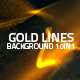 Gold Lines Background 10in1 - VideoHive Item for Sale