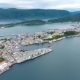 City of Alesund Norway Aerial Footage - VideoHive Item for Sale
