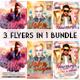 DJ Party Flyers Bundle