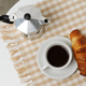 coffee and croissant - PhotoDune Item for Sale